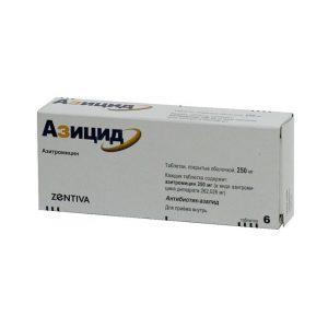 Препарат Азицид эффективен при гонорее и при хламидиозе