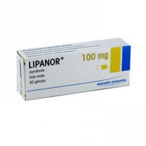 Препарат Липанор для лечения атеросклероза сосудов головного мозга