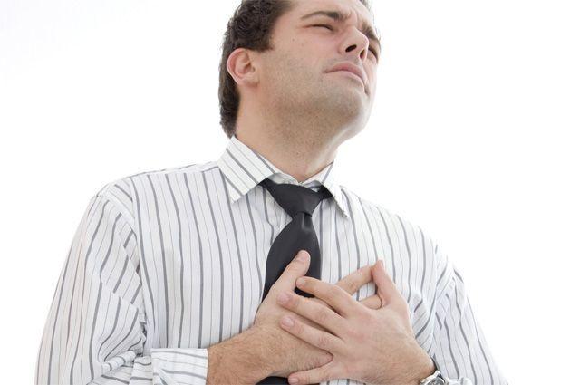 Симптом инфаркта у мужчин