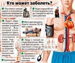 Причины высокого сердечного давления