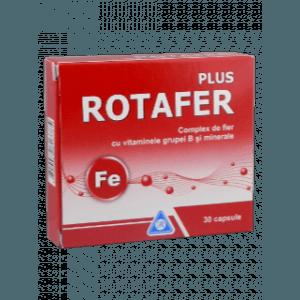 Ротафер + содержит железо и цинка с фолиевой кислотой