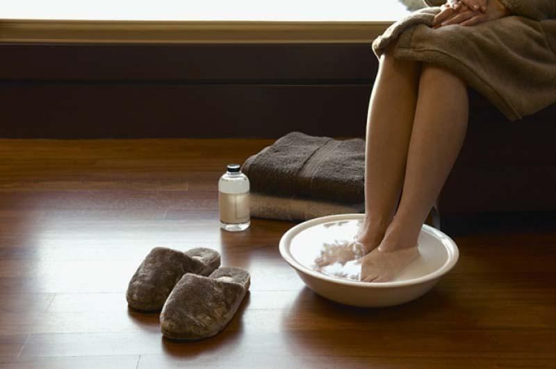Содовые ванночки дают быстрый и ощутимый эффект