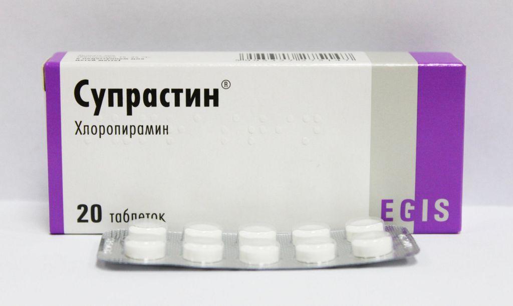Супрастин против першения в горле вызванного аллергией