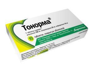 Тонорма способствует снятию спазма гладких мышц сосудов