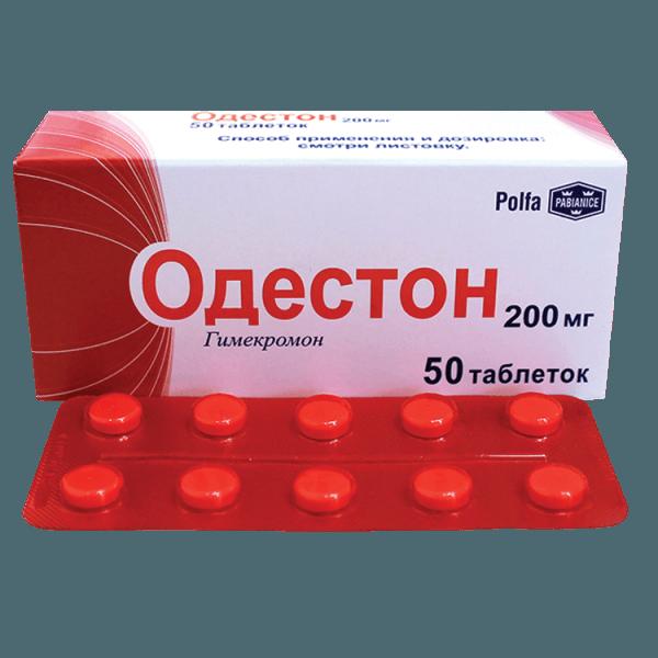 Одестон применяется для устранения исключительно жёлчных болей