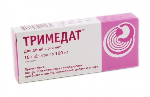 Тримедат - препарат для снятия болей при холецистите