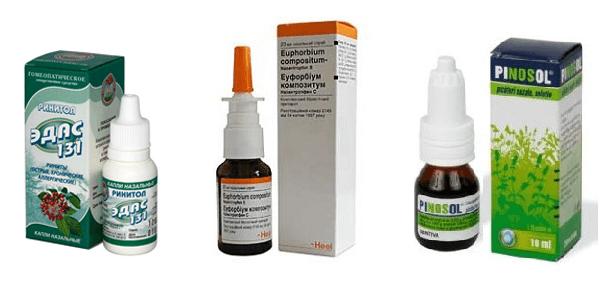 Безопасные капли для лечения насморка при беременности