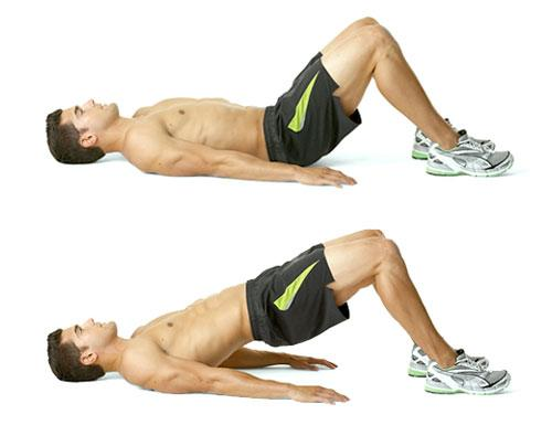 Выполнение упражнения арка