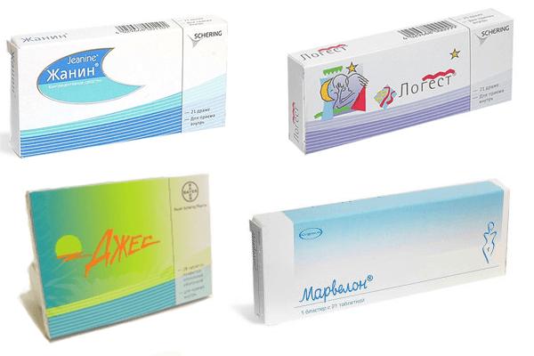 Оральные контрацептивы для лечения аденомиоза матки