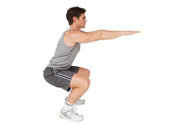 Правильное выполнение упражнения приседание