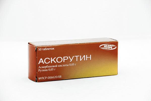 Препарат Аскорутин применяют для усиления стенок сосудов и сердца и налаживания его кровоснабжения