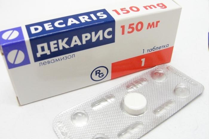 Препарат Декарис предназначен для устранения таких паразитов, как некаторы, аскариды и острицы