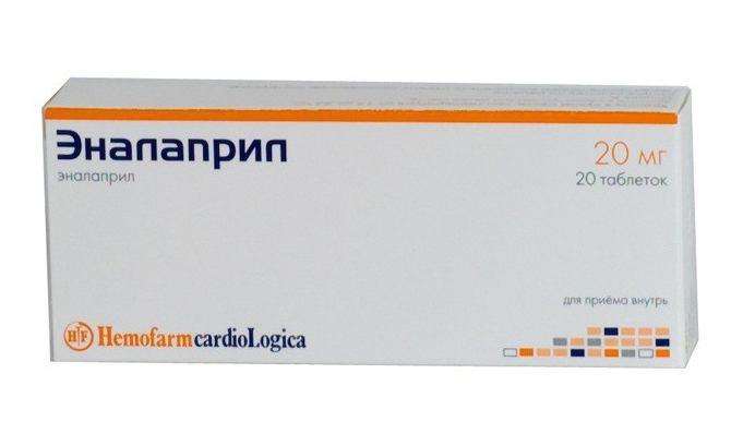 Препарат Эналаприл для лечения сердечной недостаточности