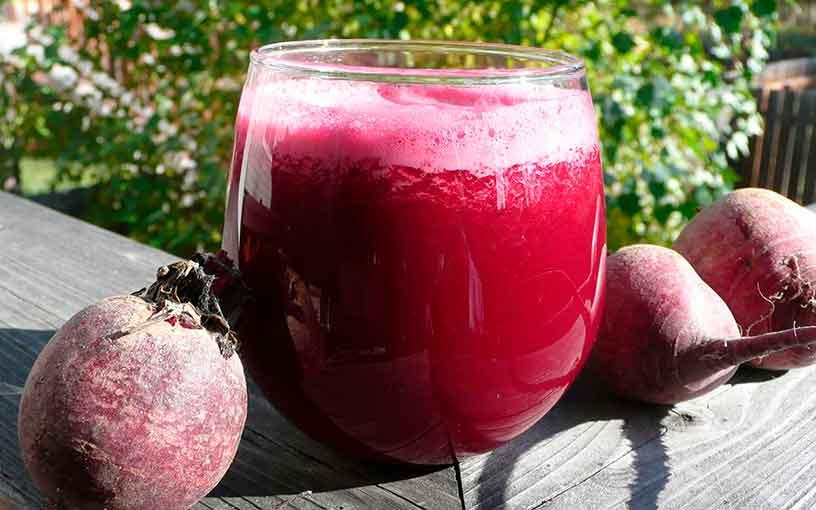 Свекольный сок помагает уменьшить размеры аденоидов и купирует воспалительный процесс