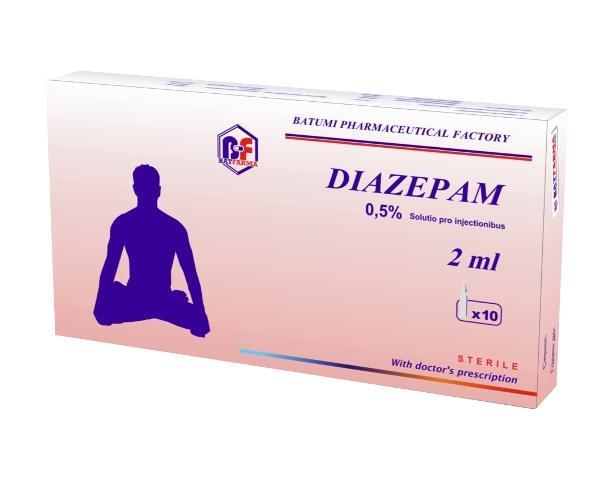 Таблетки Диазепам снимают напряжение и беспокойство