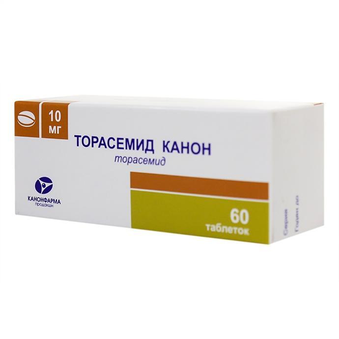Торасемид применяется при легкой и средней степени отечности
