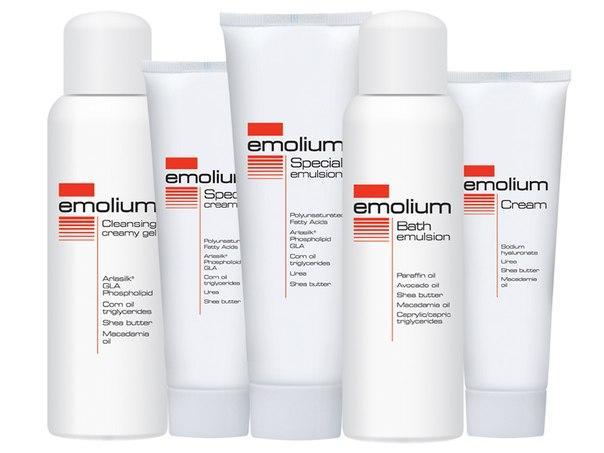 Форма выпуска кремов и эмульсий Эмолиум