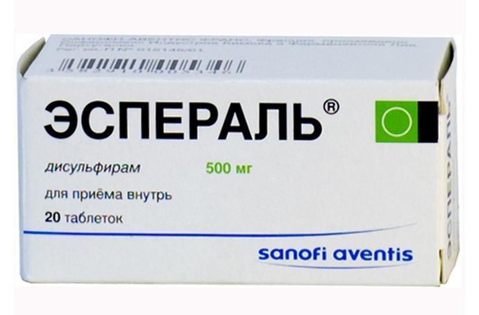 Эспераль - это самый популярный препарат для лечения алкогольной зависимости в амбулаторных условиях