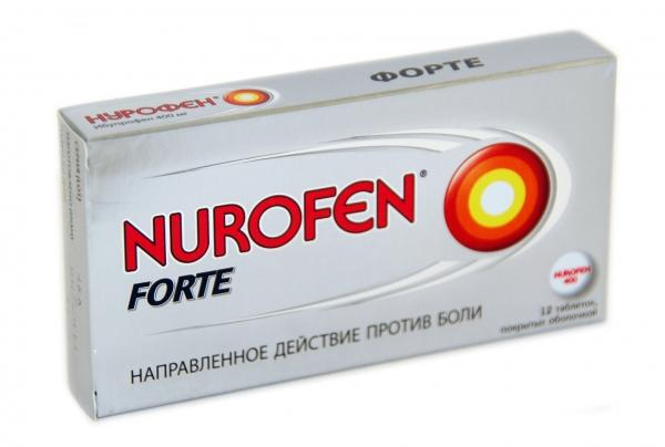 Нурофен быстро снимает высокую температуру и боль