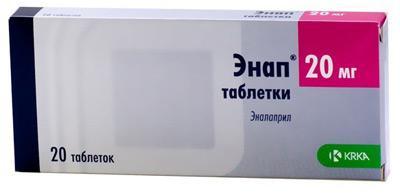 Препарат Энап