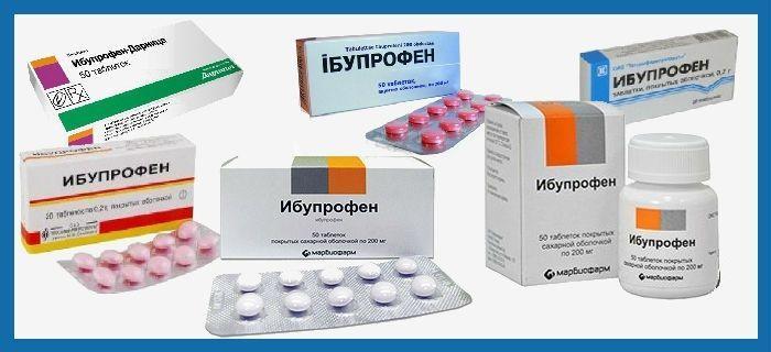 Форма выпуска препарата Ибупрофен