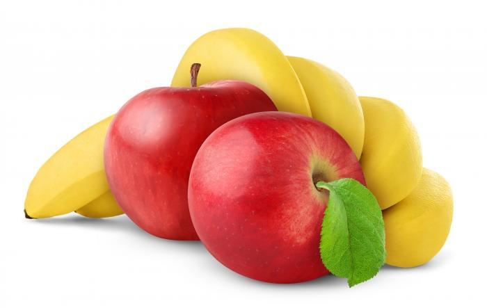 Яблочно-банановая маска улучшает функциональность сальных желез