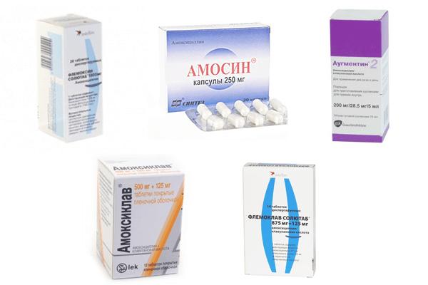антибиотики для кишечника амоксиклав
