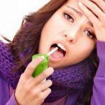 Болит горло при грудном вскармливании у мамы