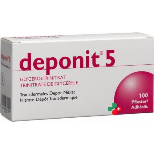 Депонит используется для купирования приступа стенокардии