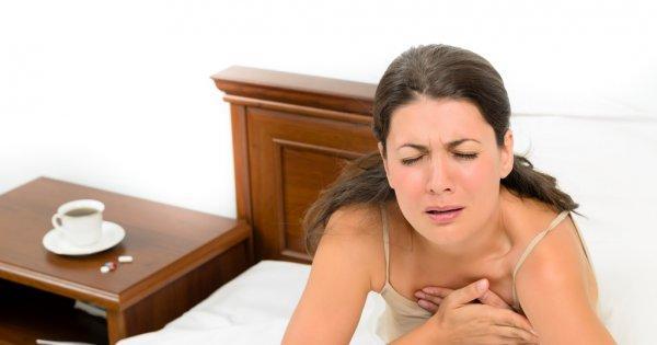 Жжение в грудной клетке: причины