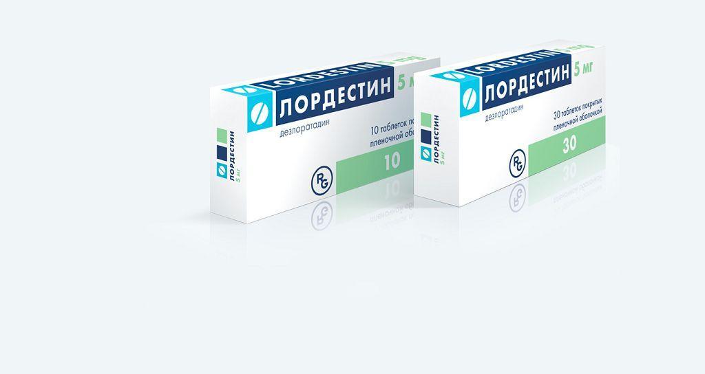Лордестин - это антигистаминный препарат широкого спектра действия