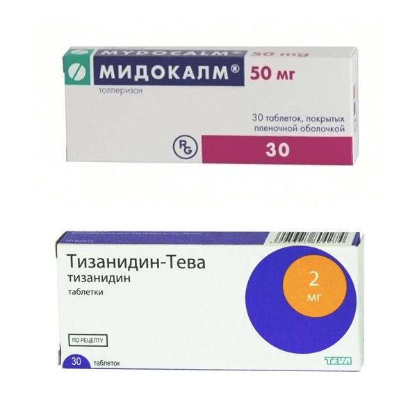Миорелаксанты для лечения шейного остеохондроза