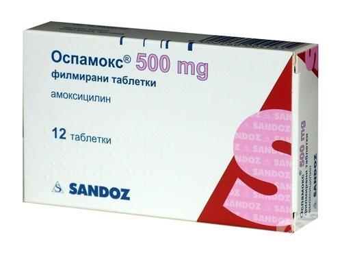 Оспамокс - хорошее противомикробное средство