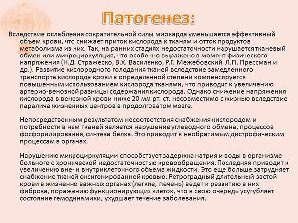 Патогенез ХСН