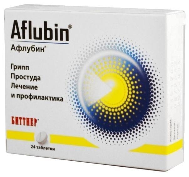 Препарат Афлубин для лечения гриппа и простуды
