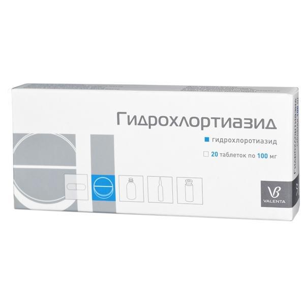 Препарат Гидрохлортиазид