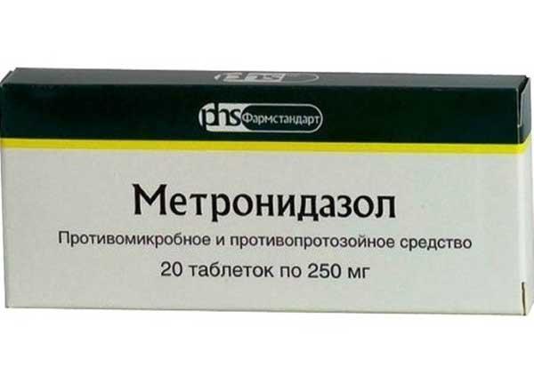 Препарат Метронидазол подавляет большинство болезнетворных бактерий