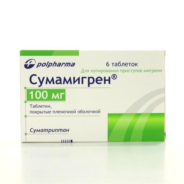 Таблетки от мигрени список эффективных средств