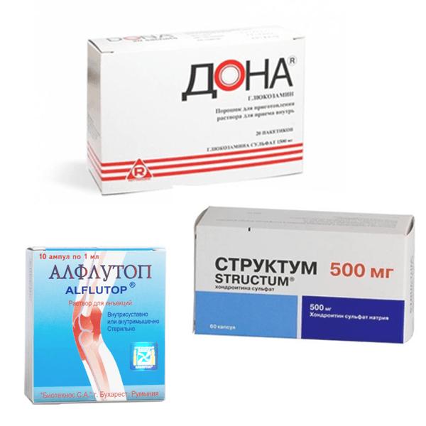 Хондропротекторы для лечения шейного остеохондроза
