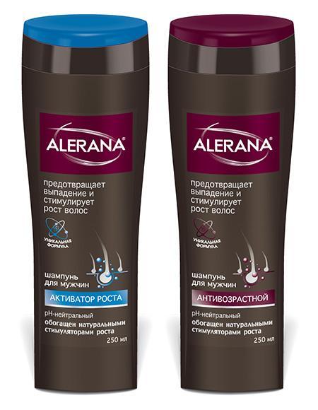 Alerana - это шампунь, регенерирующий чешуйки прядей и борющийся с сечением кончиков