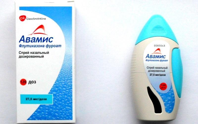 Авамис создан специально для лечения сезонного циклического ринита или аллергического насморка