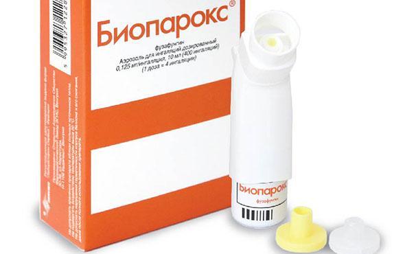 Биопарокс спрей для лечения синусита