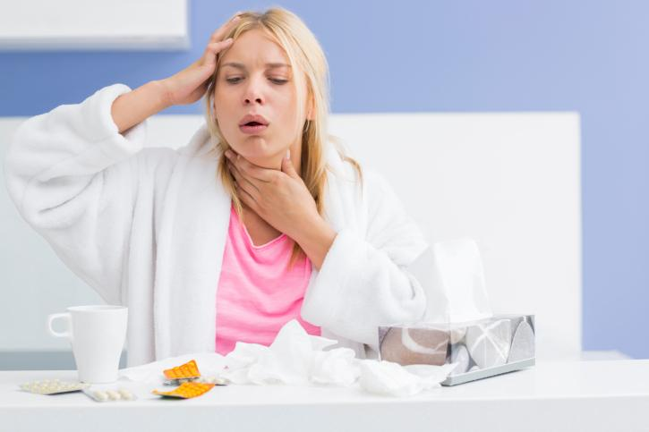 Дерет горло: чем лечить?