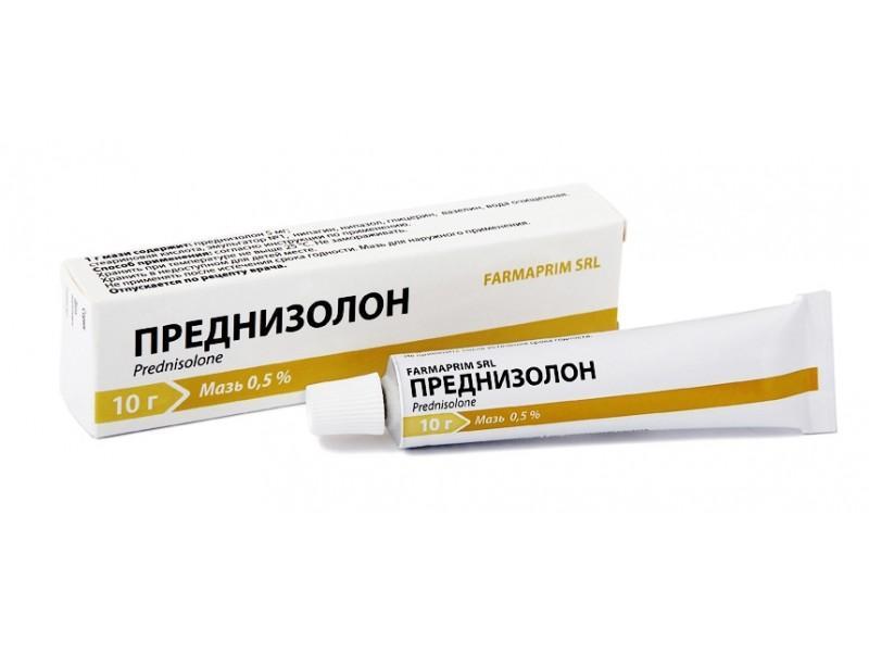 Преднизолон не только снимает воспаление, но и убирает зуд