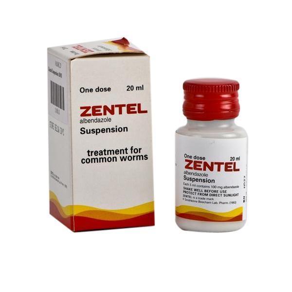 Преимущество Зентела хорошая активность к тканевым и кишечным паразитам, в том числе яйцам и взрослым глистам
