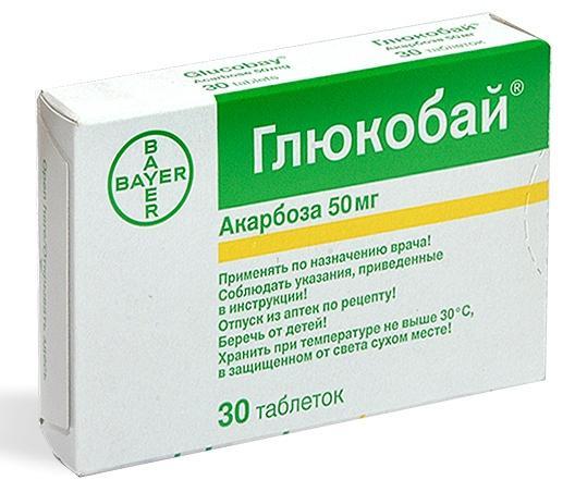 Препарат Глюкобай