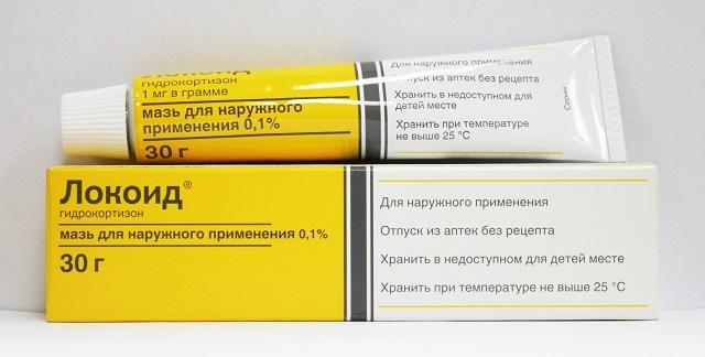 Препарат Локоид для лечения очаговой алопеции