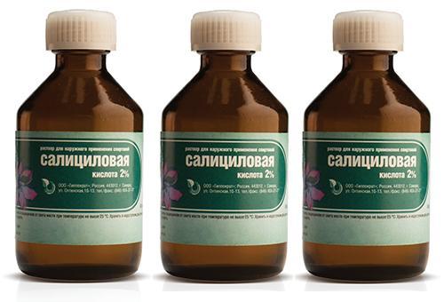 Салициловая кислота для устранения крапивницы