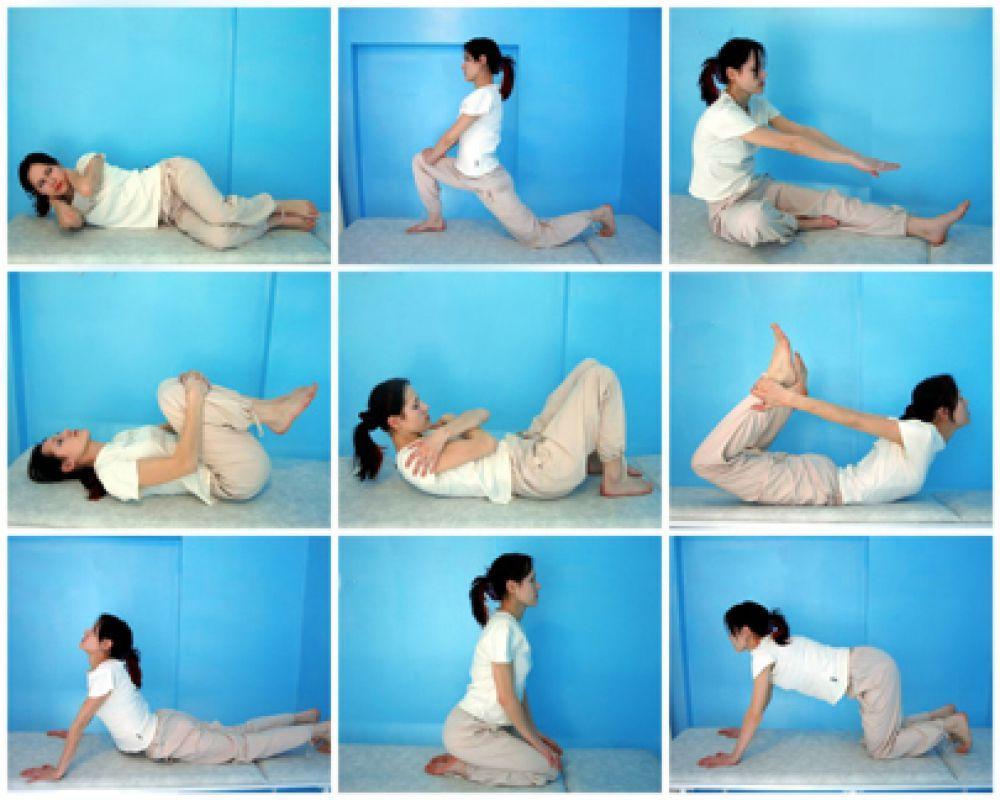 Упражнения при грыже диска грудного отдела позвоночника