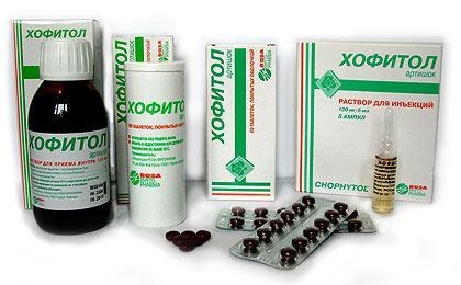 Хофитол обладает сильным желчегонным эффектом, что обеспечивает легкое усваивание пищи